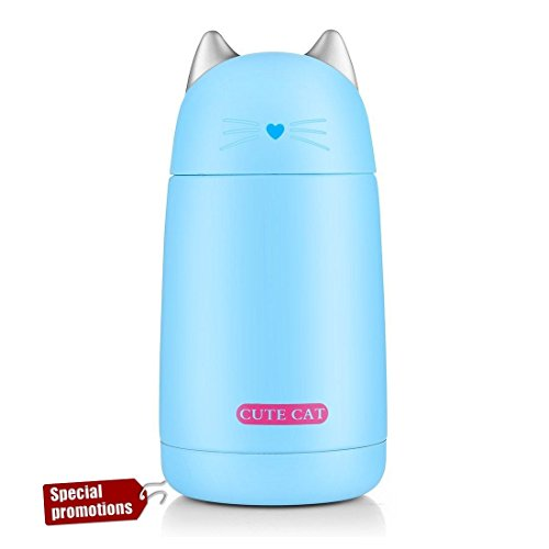 Cute Vacuum Insulated Water Bottle Stainless Steel, Double W