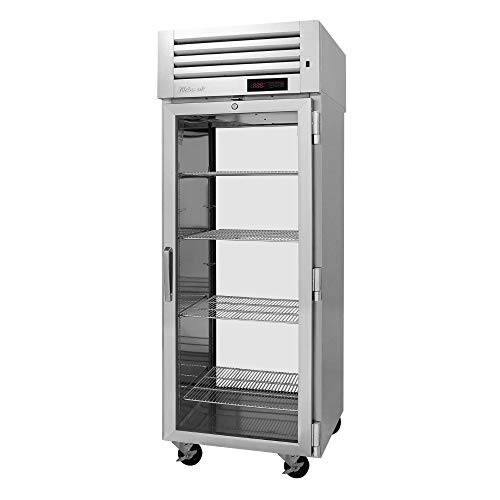 (Turbo Air PRO-26H-G-PT Pro Series Single Section Pass-Thru Glass Door Heated Cabinet, 115V)