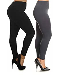 Fashionmic Premium Heavy Weight Fleece Lined Legging - Many Color