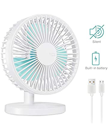 Home Appliances New Portable Handheld Rechargeable Built-in Battery Usb Port Portable Mini Desk Fan For Smart Home Special Summer Sale