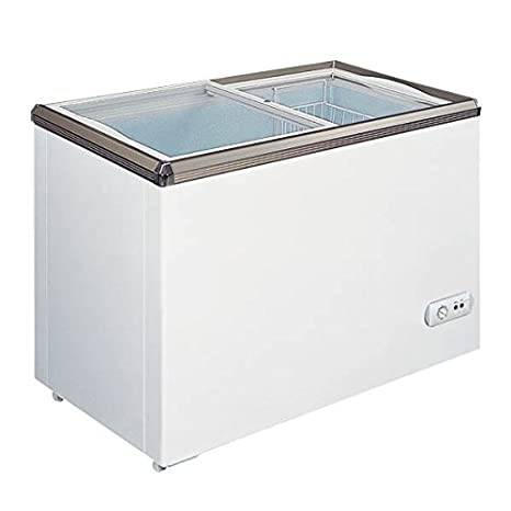 "OMCAN REFRIGERATION 29"" Ice cream Freezer With Flat Glass Top"