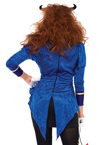 3-PC-Ladies-Beastly-Beauty-Velvet-Coat-Dress-Set
