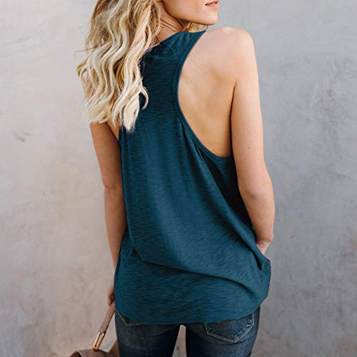 e059f794e39 Big Sales for Women! Wintialy Women Letter Vest Sleeveless Loose Crop Tops  Tank Tops Blouse