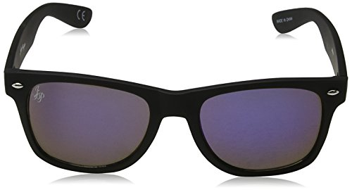 de Hombre Jeepers Gafas Blue 60 Negro para Sol JP0016 Peepers Black Revo tYqwZ6a