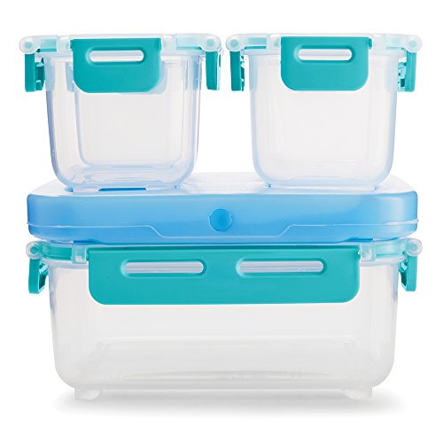 Rubbermaid LunchBlox LeakProof Snack Pack Lunch Containers Blue 2000669