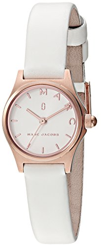 Marc by Marc Jacobs Women's MJ1610 Henry Analog Display Analog Quartz White Watch