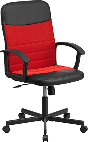 flash-furniture-mid-back-black-vinyl-task-chair-with-red-mesh-inserts