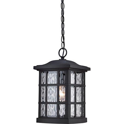 Quoizel SNN1909K Stonington Outdoor Pendant Ceiling Lighting, 1-Light, 100 Watt, Mystic Black (15