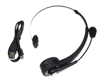Casque Micro Sans Fil Bluetooth pour Playstation