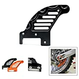 Motorcycle Rear Brake Disc Guard Protector Protective Cover For KTM SX125 144 150 200 250 SXF 250 300 450 505 EXC 125 144 150 200 250 300 450 EXCF 300 XC150 200 250 300 400 450 525.(Black)