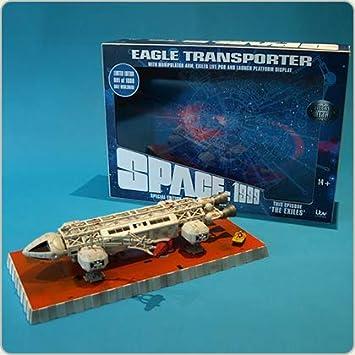 SPACE SPAZIO 1999 EAGLE TRANSPORTER The Exiles Episode 1000pz Sixteen DieCast