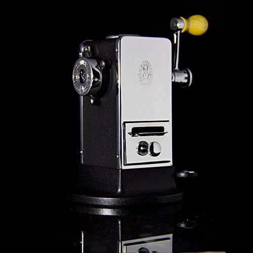 El Casco Pencil Sharpener With Base Side / Load Black And Chrome M-430CN by El Casco (Image #4)