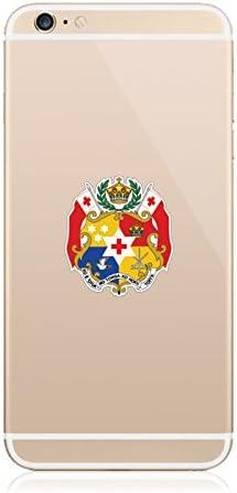 fagraphix Two Pack Tongan Coat of Arms Sticker Die Cut Decal Self Adhesive FA Vinyl