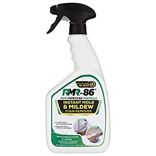 RMR-86 Instant Mold and Mildew Stain Remover Spray - Scrub Free Formula, Bathroom Floor and Shower Cleaner, 32 Fl Oz