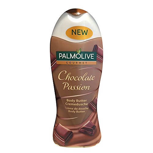 (Palmolive Gourmet Chocolate Passion Body Butter Wash 250 ml / 8.4 oz )