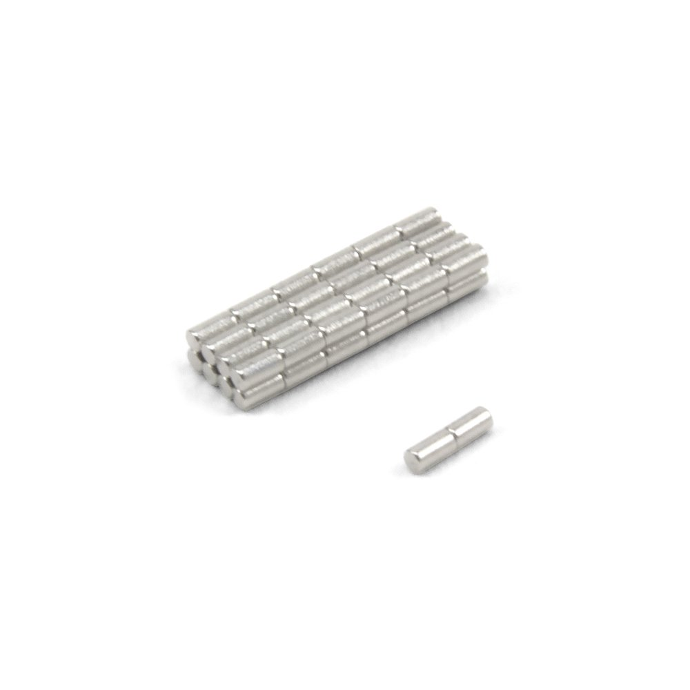 Magnet Expert/® 1mm dia x 2mm thick N42 Neodymium Magnet Pack of 50 0.03kg Pull