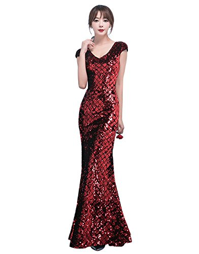 Damen Schlauch Rot Drasawee Drasawee Damen Kleid Wnp7RT