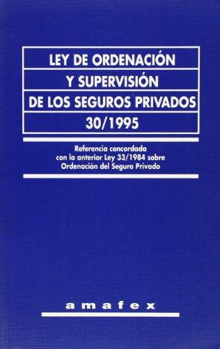 Ley de ordenación y supervisión de los seguros privados 30/1995
