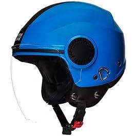 Studds Urban Open Face Helmet (Blue, L)