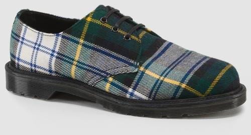 Martens Tartan Plaid Boots - 4
