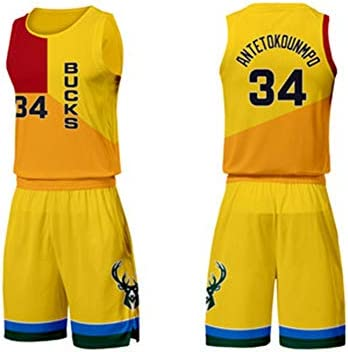 online store 62787 a41e6 Giannis Antetokounmpo No. 34 Milwaukeebucks City Edition ...