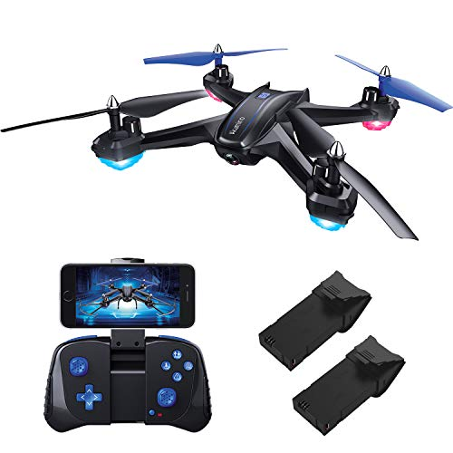 Akamino S6 WiFi FPV Drone, RC Quadcopter with 120° FOV 720P HD Camera for Adult, Portable Aircraft Toy for Beginners…