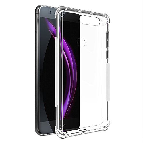 Price comparison product image SPARIN Scratch Resistant Corner Protection TPU Case for Huawei Honor 8, Crystal Clear, 2 Pack