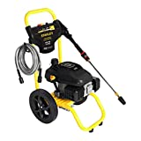 Stanley SXPW3124 3100 PSI at 2.4 GPM Fatmax Gas Pressure Washer Powered by 196cc Engine with Axial Cam Pump