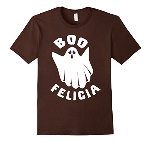 Mens Boo Felicia Funny Halloween Ghost Costume T Shirt Large Brown - Homemade Ghost Costumes