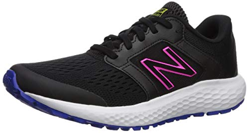 - New Balance Women's 520v5 Cushioning Running Shoe, Black/Multi, 8 M US