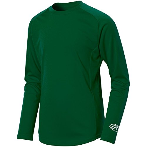 Rawlings Youth Pro-Dri Crew Neck Performance (Rawlings Pro Mesh)
