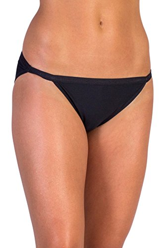 ExOfficio Women's Give-N-Go String Bikini, Black, - Rei Womens Clothing