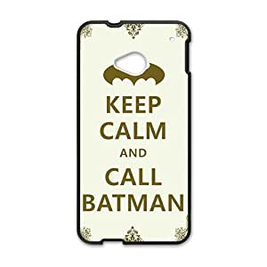 Simple motto call Batman Cell Phone Case for HTC One M7