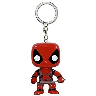 Funko POP Keychain: Marvel - Deadpool Action Figure: Funko Pocket Pop! Keychain:: Toys & Games