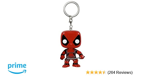 Funko POP Keychain: Marvel - Deadpool Action Figure
