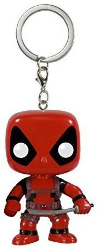 Funko POP Keychain: Marvel - Deadpool Action Figure]()