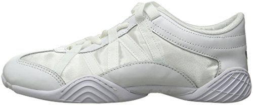 Nfinity Adult Evolution Cheer Shoes, White, 8.5 by Nfinity (Image #5)