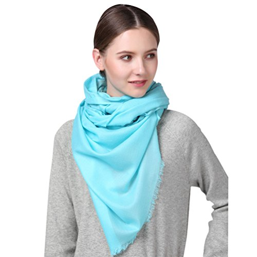 (Cashmere Fell Ultra Thin Super Soft Warm Extra Long Large Scarf Shawl 86