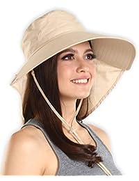 Sombrero de sol para mujer con protección UV 7bbe5110913