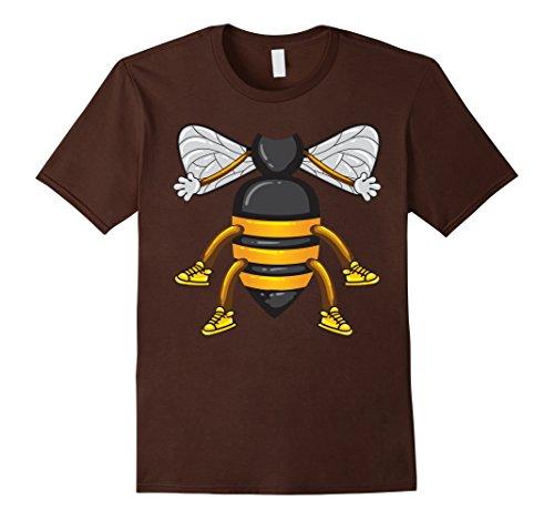 Mens Funny Honeybee Costume Shirt - Hilarious Bee Halloween Gift 2XL Brown