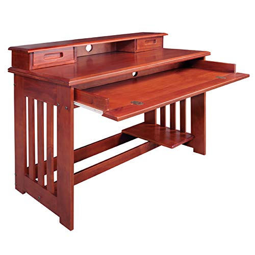 American Furniture Classics 2867DH Desk with Hutch by American Furniture Classics (Image #2)