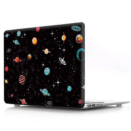 HRH Aesthetic Space Design Laptop Body Shell Protective Hard Case for MacBook New Pro 15