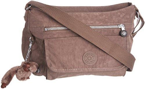 Kipling Women's Syro Across Body Shoulder Bag Small Monkey Brown