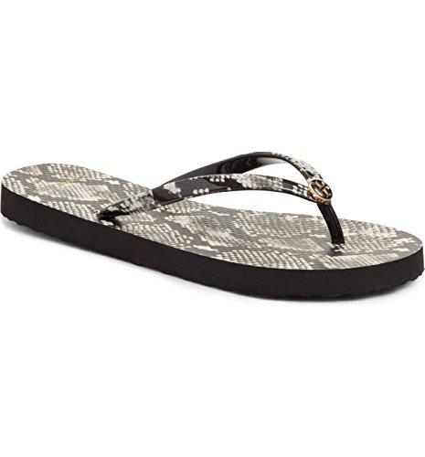 Tory Burch Flip Flops Shoes Sandals Flat Rubber (9, Roccia Natural)
