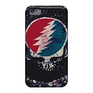 Perfect Hard Cell-phone Case For Iphone 6 (sBK17138tjqQ) Allow Personal Design Nice Grateful Dead Band Skin