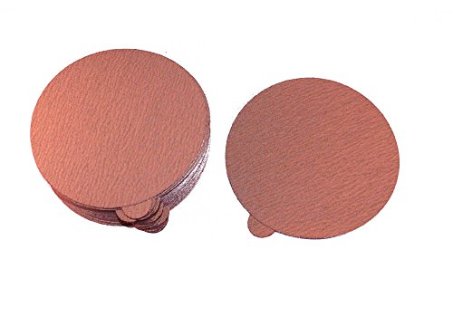 Car Builder Supply 776q50 - PSA DA Gold Paper Disks 6'' 80C Aluminum Oxide 50pc 80 Grit by Car Builder Supply