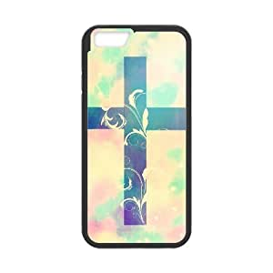 """DDOUGS Cross Personalised Cell Phone Case for Iphone6 Plus 5.5"""", Dropship Cross Case"""