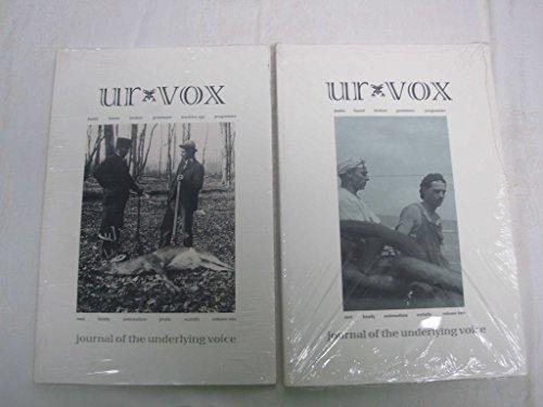 UR-VOX Volume 2 (Journal of the Underlying Voice)