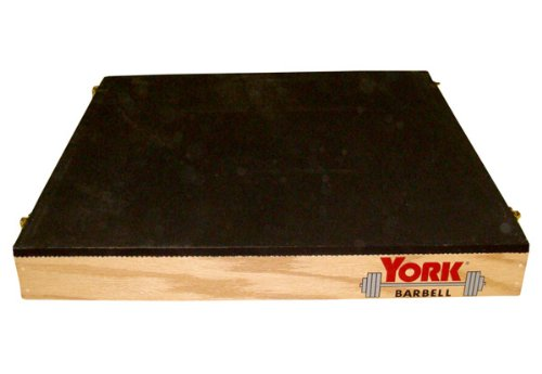 York USA-Made Stackable Wood Plyo Box / Step-Up Box Combo - 3'', 6'', 12'' Heights (Set of 3) - Wooden Plyometric Boxes