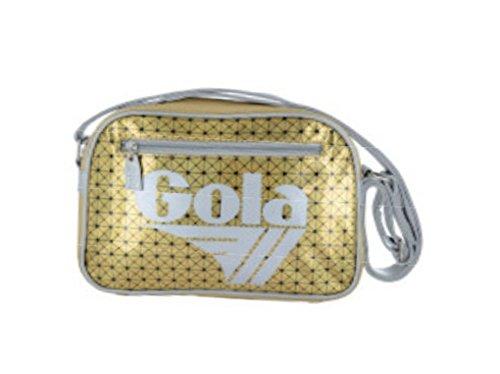 BORSA GOLA ZCUC014 Mini Redford 3D HOLOGRAM GOLD/SILVER
